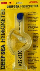 Hydrometer for testing salt level in marine aquariums