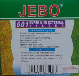 Jebo 501 Waterfall Filter