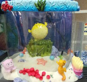 Kids Safe Aquarium Set With Filter And LED
