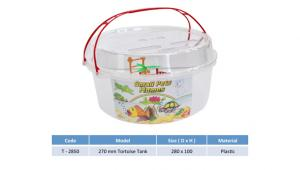 Round Plastic Turtle Tank for sale