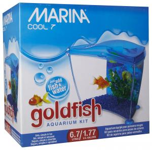 Marina small aquarium complete set - Blue