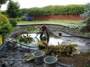Malaysia Pond Cleaning Services