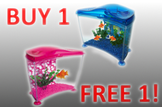 buy 1 get 1 free aquariums